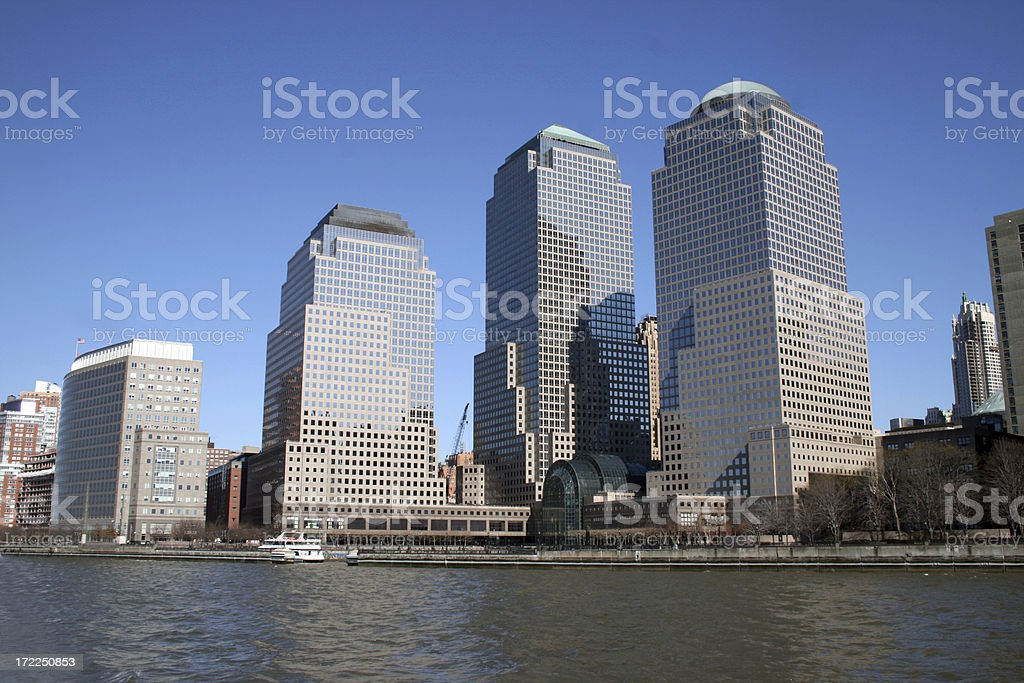 World Financial Center in New York royalty-free stock photo