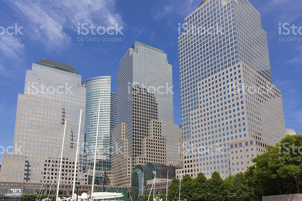 World Financial Center, New York City. royalty-free stock photo