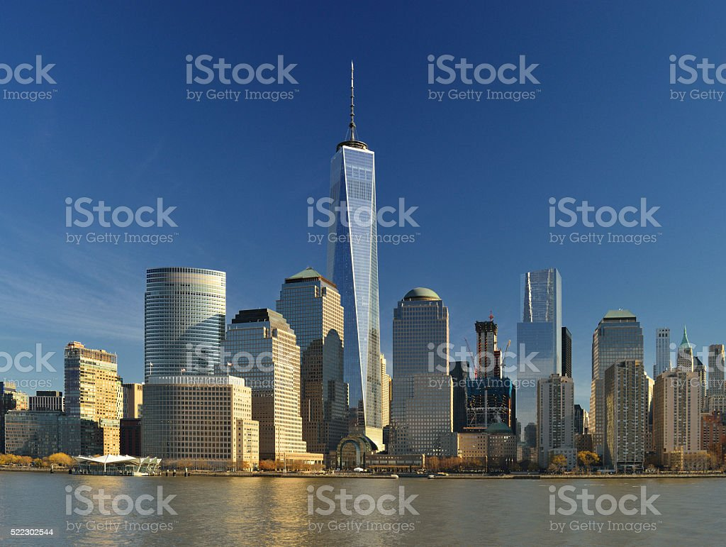 World Financial Center, New York City. stock photo