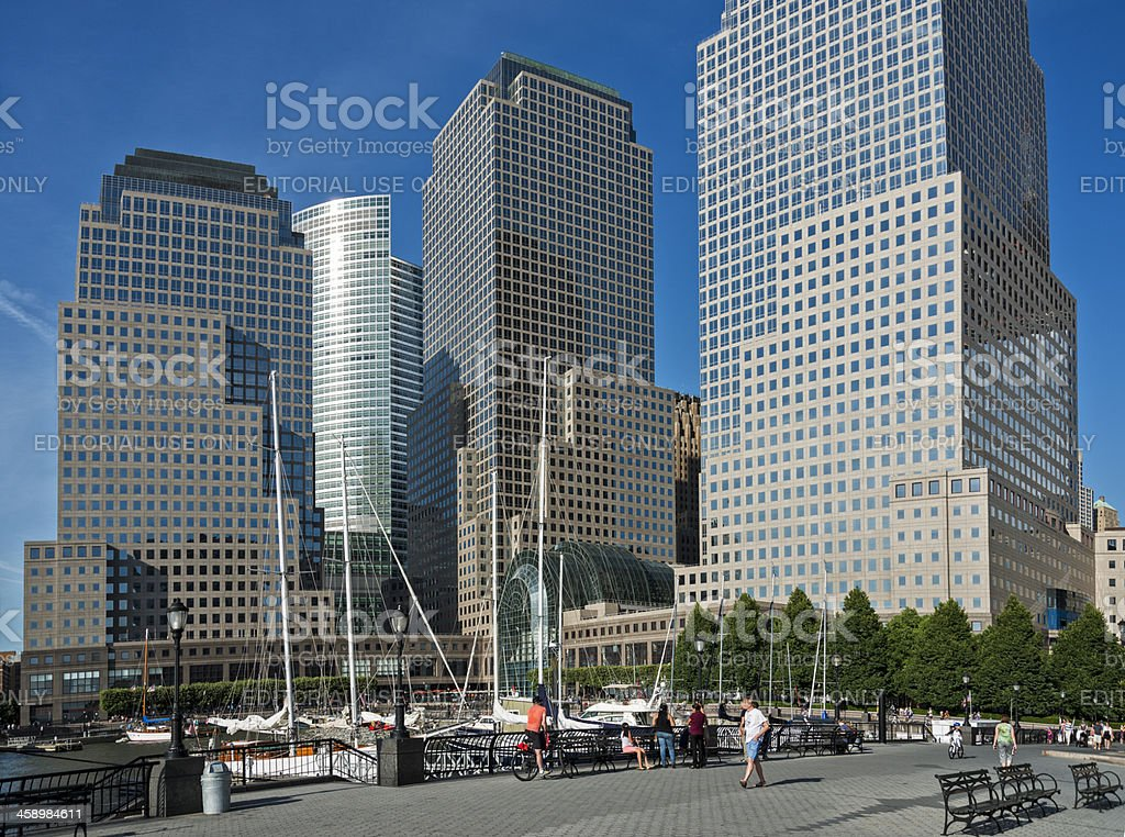 World Financial Center stock photo