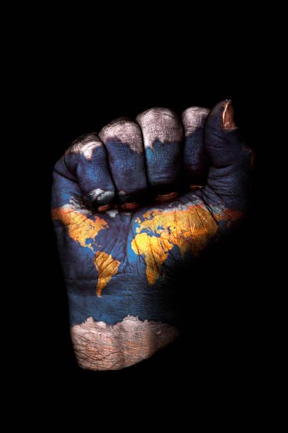 World Fist stock photo