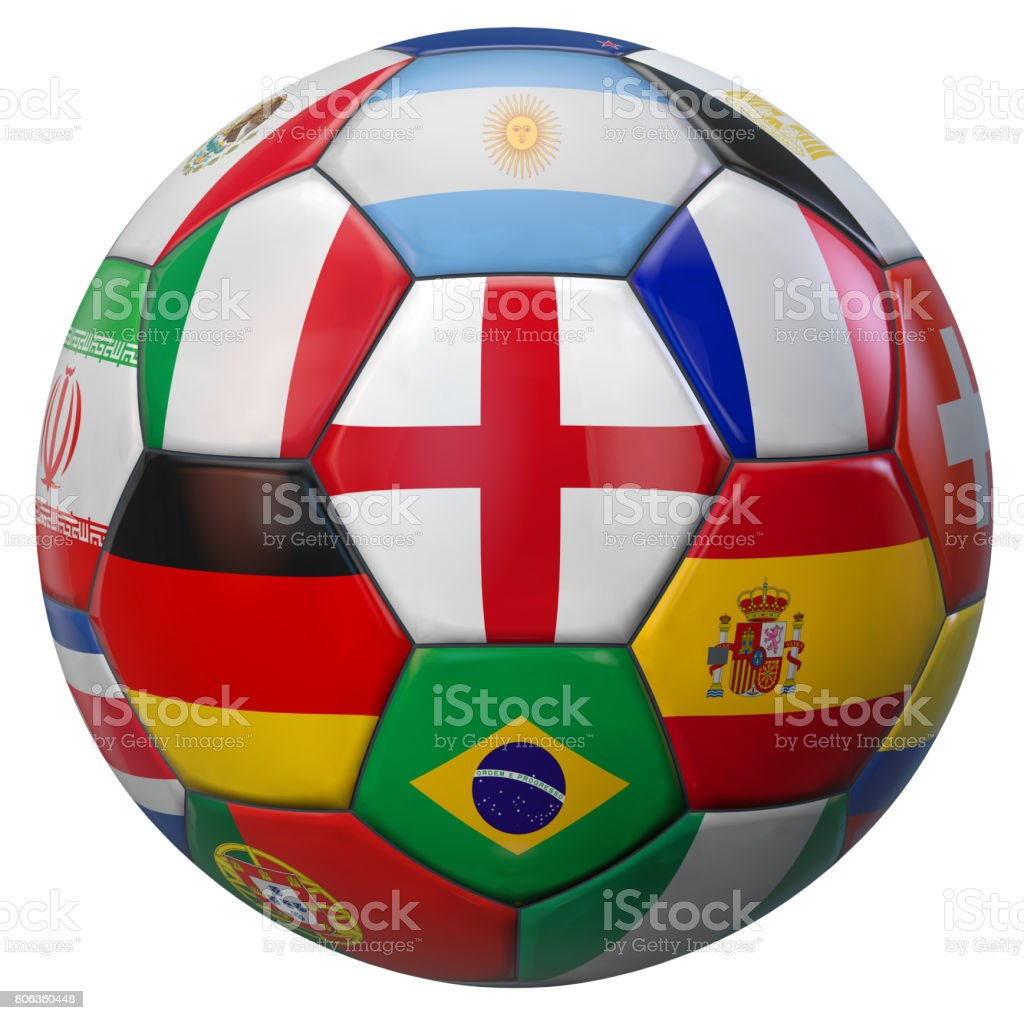 World Football England stock photo
