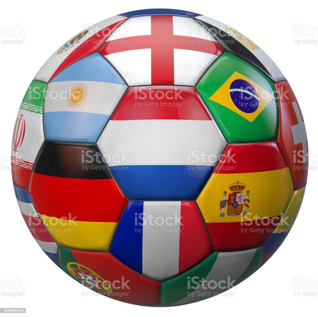 World Football Netherlands stock photo