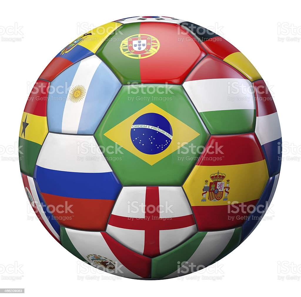 World Football stock photo