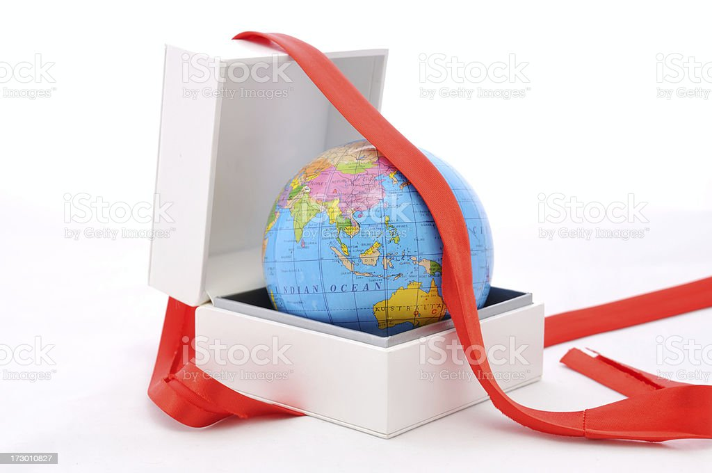 world gift stock photo