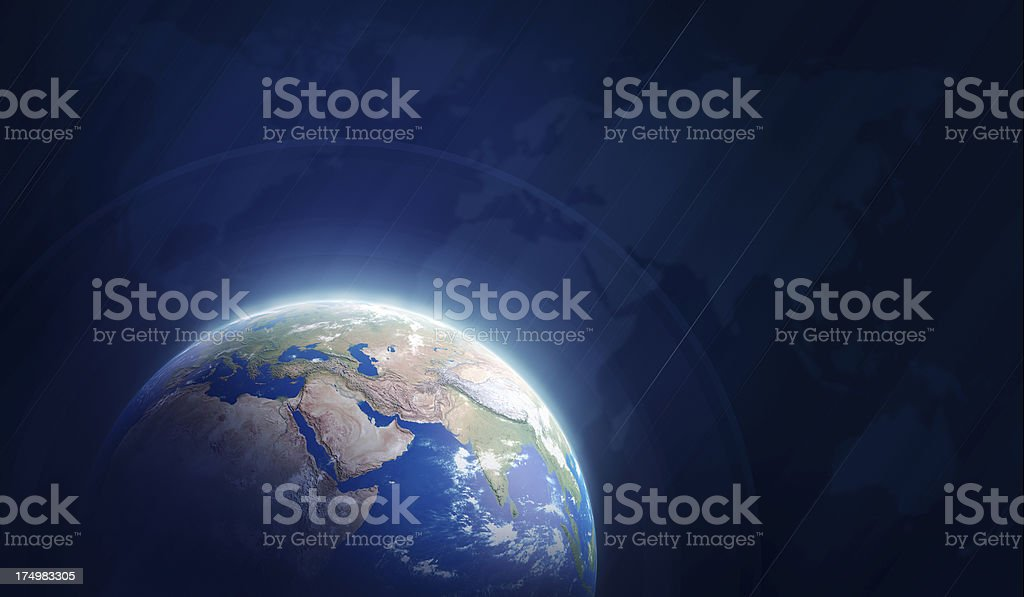 World globe royalty-free stock photo