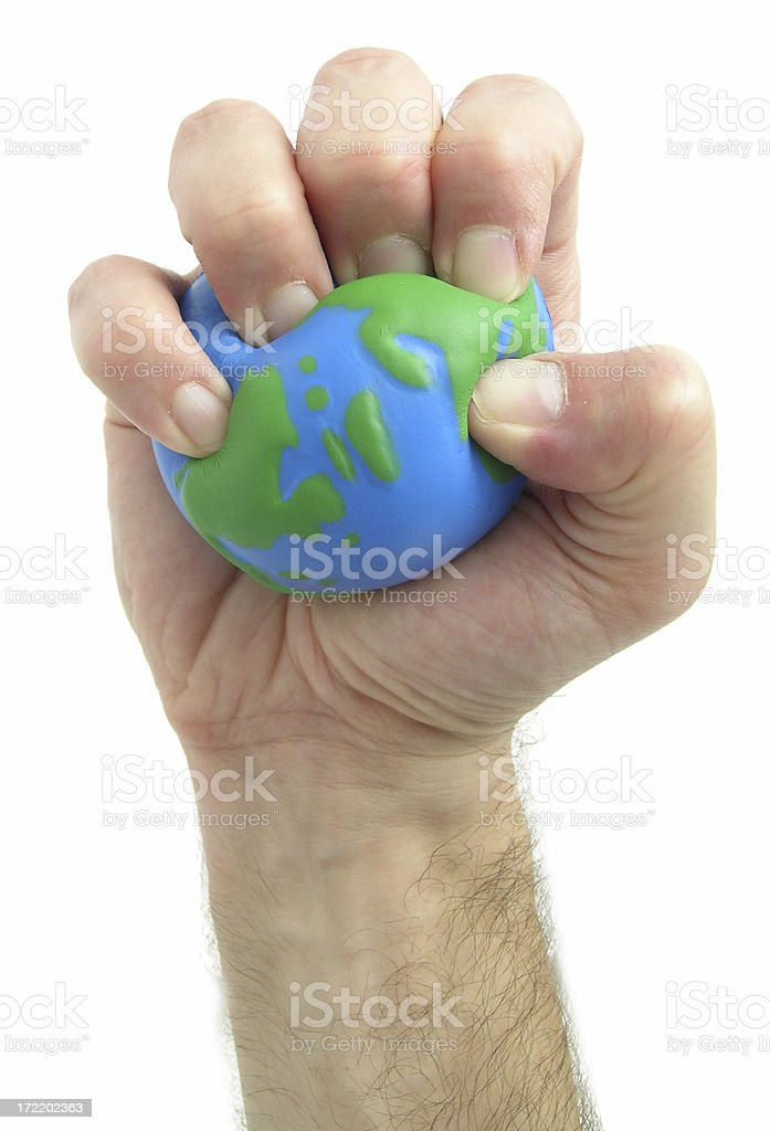 World gone wrong royalty-free stock photo