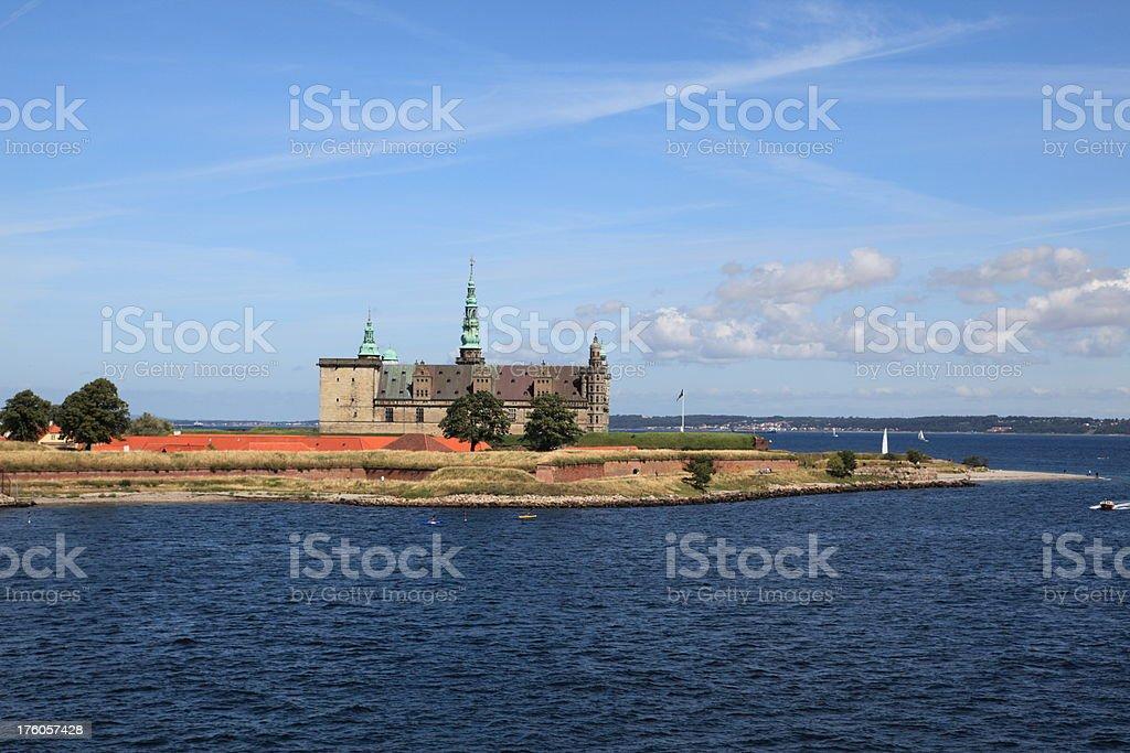 World Heritage - Kronborg in Elsinore, Denmark stock photo