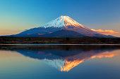 世界遺産の富士山や精進湖