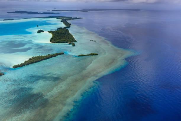 Welterbe Palau Ngemelis Island Blaue Halle und Blaue Ecke – Foto
