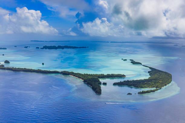 Welterbe Palau Ngemelis Island Blaue Halle und Blaue Ecke - Weltkulturerbe – Foto