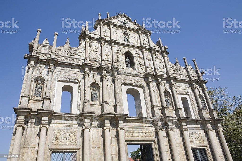 World Heritage royalty-free stock photo
