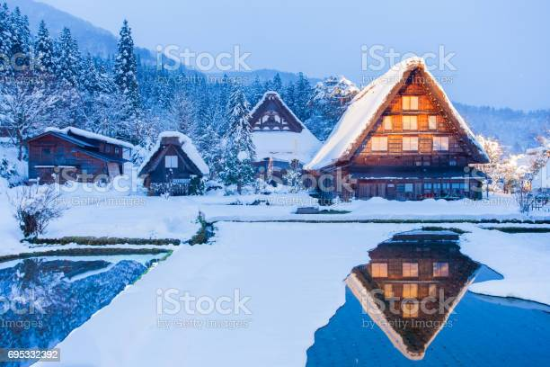 World heritage site shirakawago village picture id695332392?b=1&k=6&m=695332392&s=612x612&h=tnelblwcufg7 yldczh5yxoukmwqju8 yi0wgrds9x0=