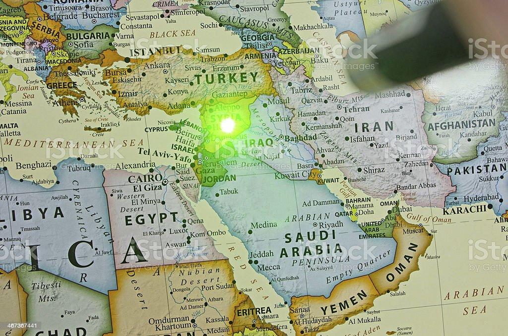 World Hot Spots ... Syria stock photo