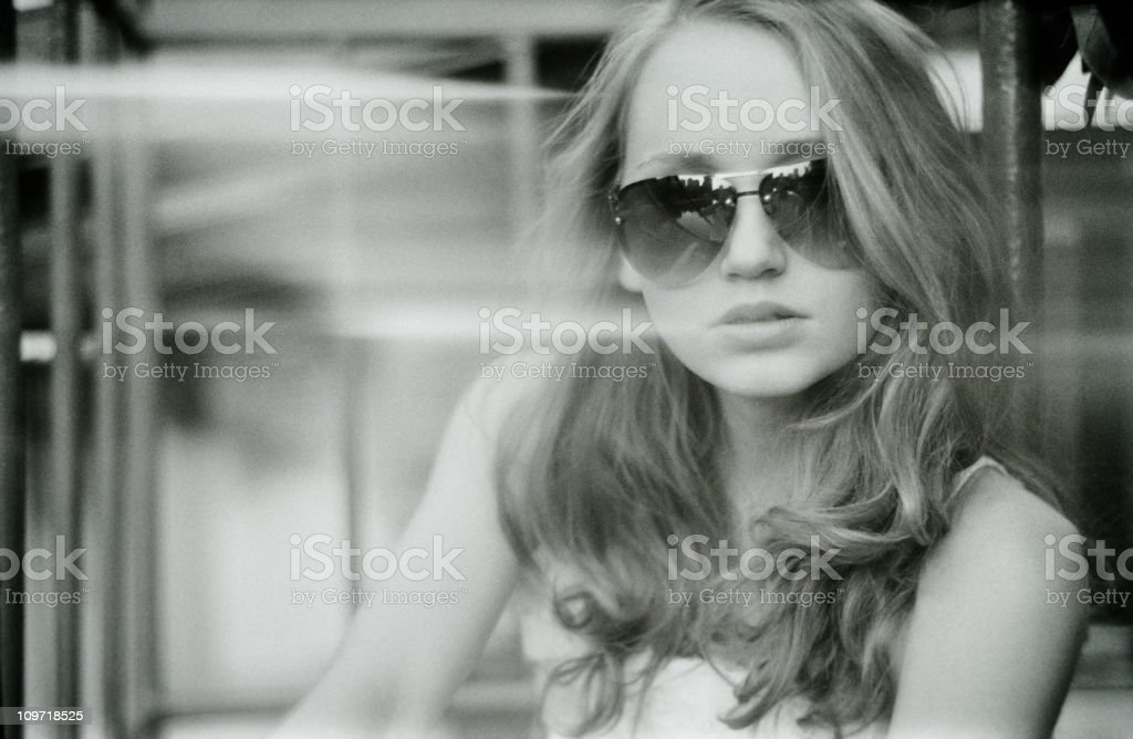 World in black and white royalty-free stock photo