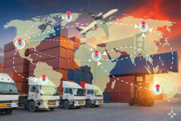 world international map connection connect network - caricare attività foto e immagini stock