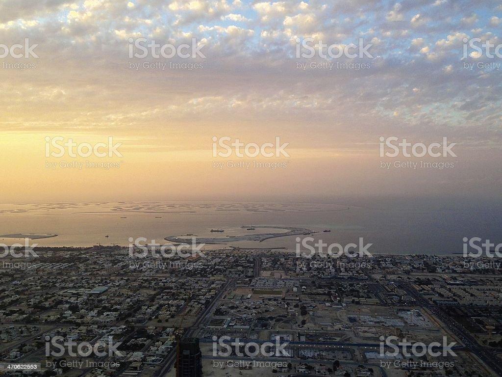 World Islands, Dubai stock photo