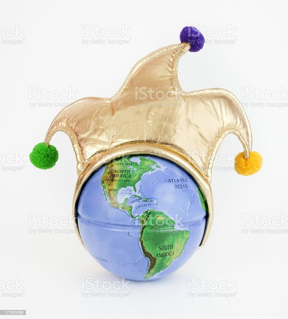 World Jester stock photo