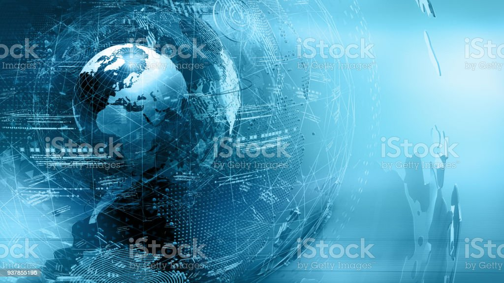 world map  abstract stock photo