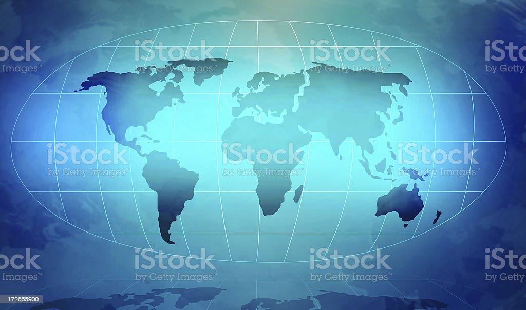 World map background royalty-free stock photo