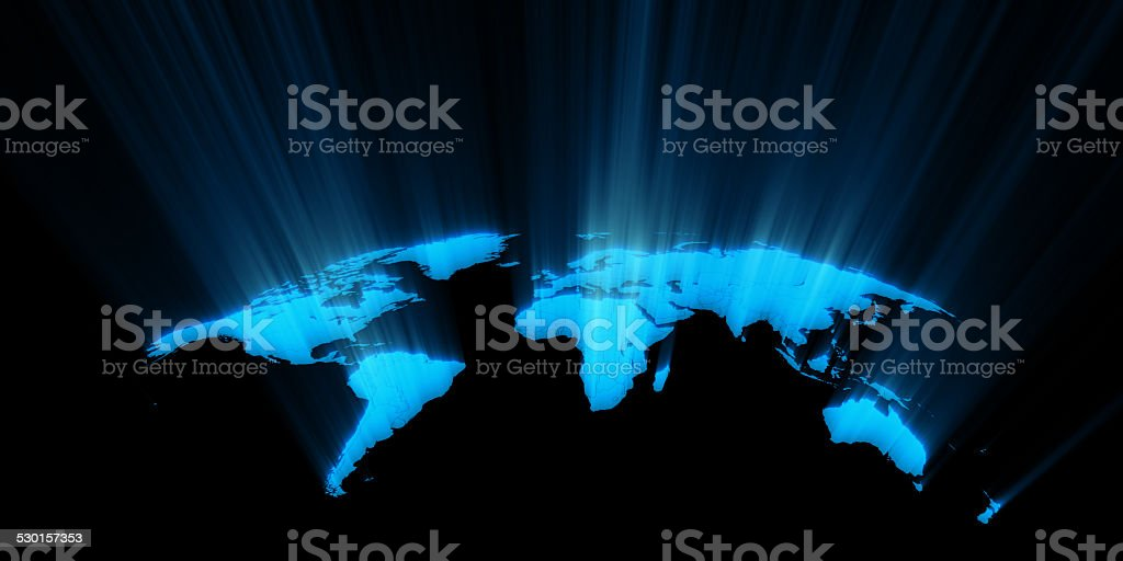 World map concept stock photo