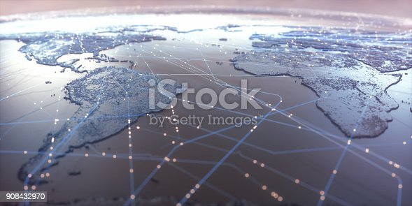 istock World Map Connectivity 908432970