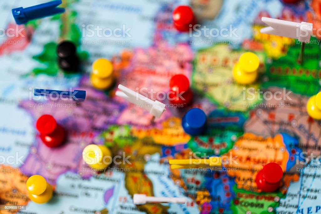World map country flags marked pin city pinpoint stock photo world map country flags marked pin city pinpoint royalty free stock photo gumiabroncs Gallery