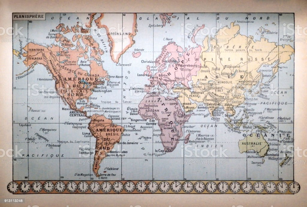 World map dating from 1889 stock photo more pictures of 19th world map dating from 1889 royalty free stock photo gumiabroncs Image collections