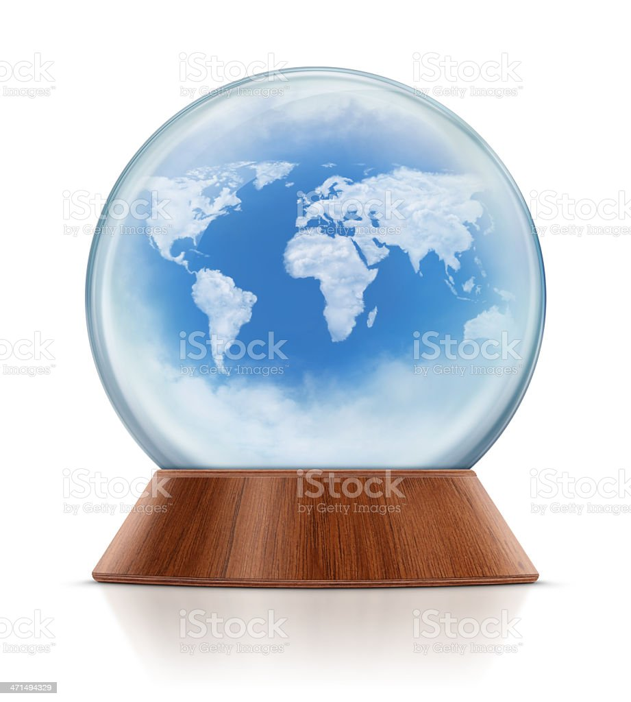 World map in snow globe stock photo more pictures of blue istock world map in snow globe royalty free stock photo gumiabroncs Gallery