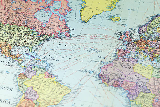 Royalty free world map pictures images and stock photos istock world map north america stock photo gumiabroncs Gallery