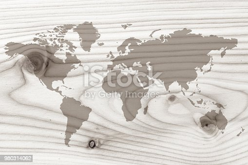 980314112istockphoto World map on the boards 980314062