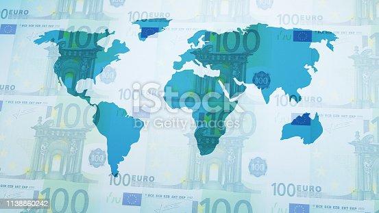 istock World Map 1138860242