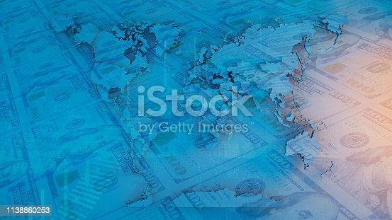 istock World Map 1138860253