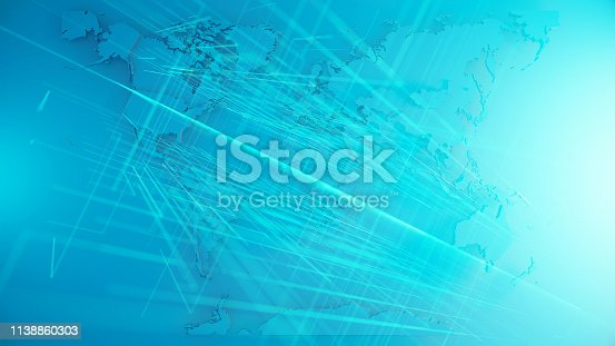 istock World Map 1138860303
