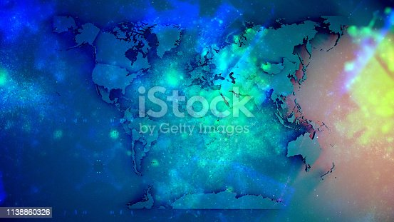 istock World Map 1138860326