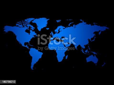 istock World Map 180756212