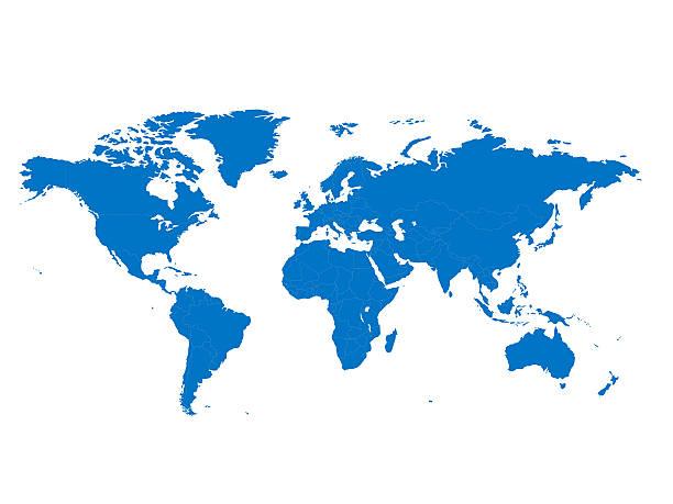 세계지도 스톡 사진