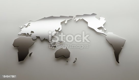 istock World Map 184947861