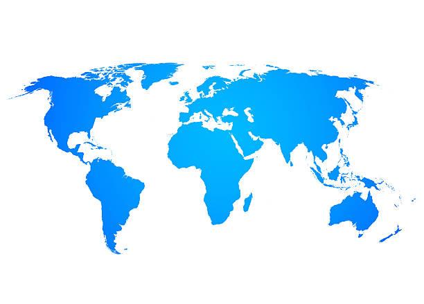 world map flat stock photos
