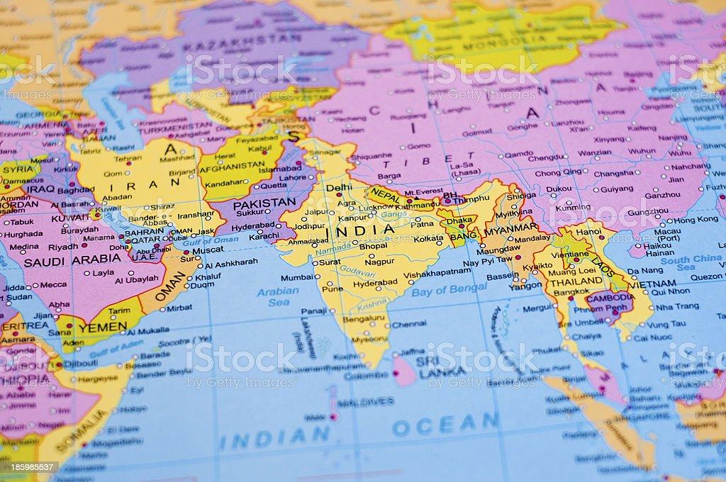 Mapa mundial india fotografa de stock y ms imgenes de agra istock mapa mundial india foto de stock libre de derechos gumiabroncs Images