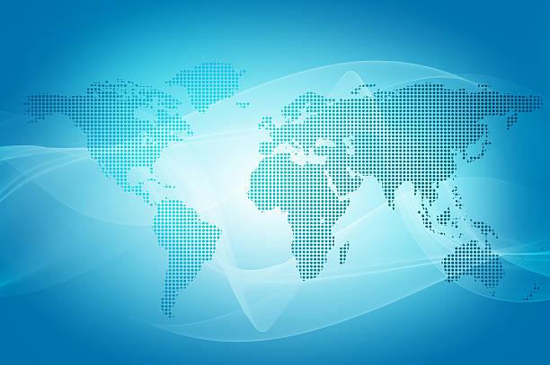 world weltkarte  - landkartenillustrationen stock-fotos und bilder