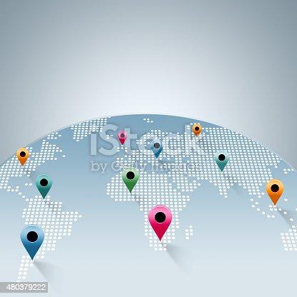 istock World map 480379222