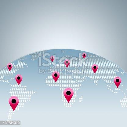 istock World map 492734310