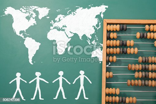 1190039622istockphoto World map 506242396
