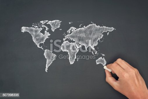 538675410istockphoto World map 507398335