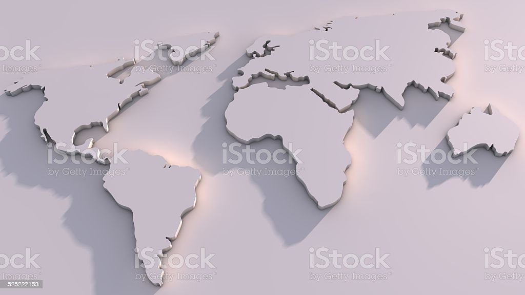 3d world map stock photo more pictures of amazon rainforest istock 3d world map royalty free stock photo gumiabroncs Choice Image