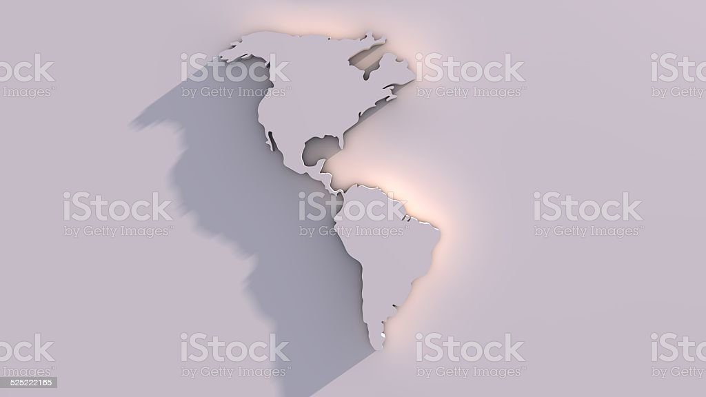 3d world map stock photo more pictures of amazon rainforest istock 3d world map royalty free stock photo gumiabroncs Images