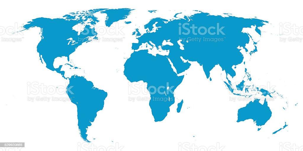Carte du monde - Photo