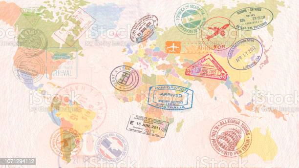 World map with visas stamps seals travel concept picture id1071294112?b=1&k=6&m=1071294112&s=612x612&h=guw v43ul6orpxoilzzu4dnhnhyfxvvkrttc2qis3go=
