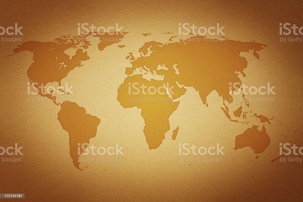 World map XXL royalty-free stock photo